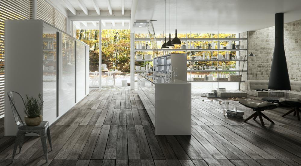 Luxe greeploze keuken