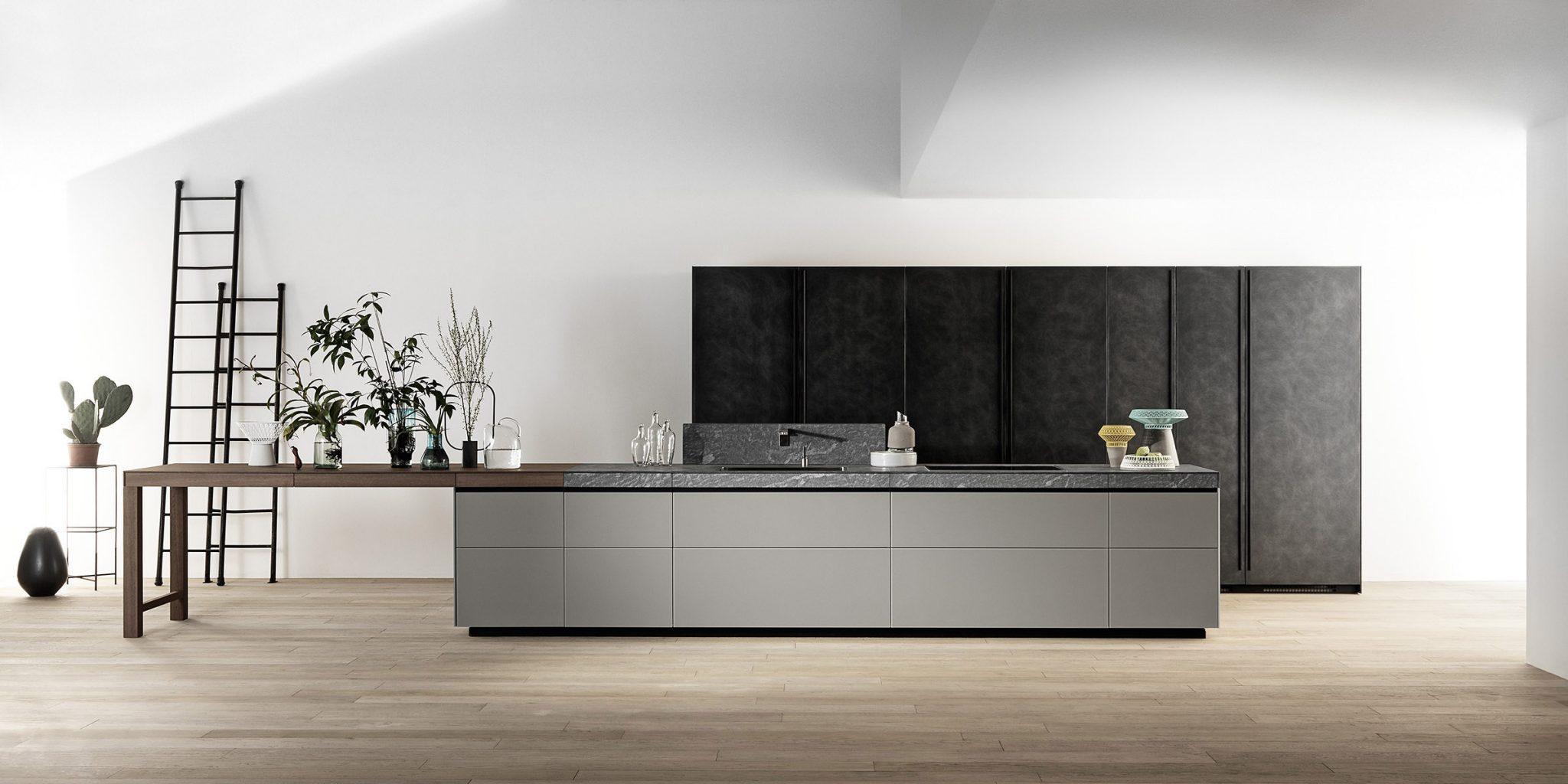 Black Kitchens Cabinets Valcucine Italiaanse Keukens Rikken Keukens