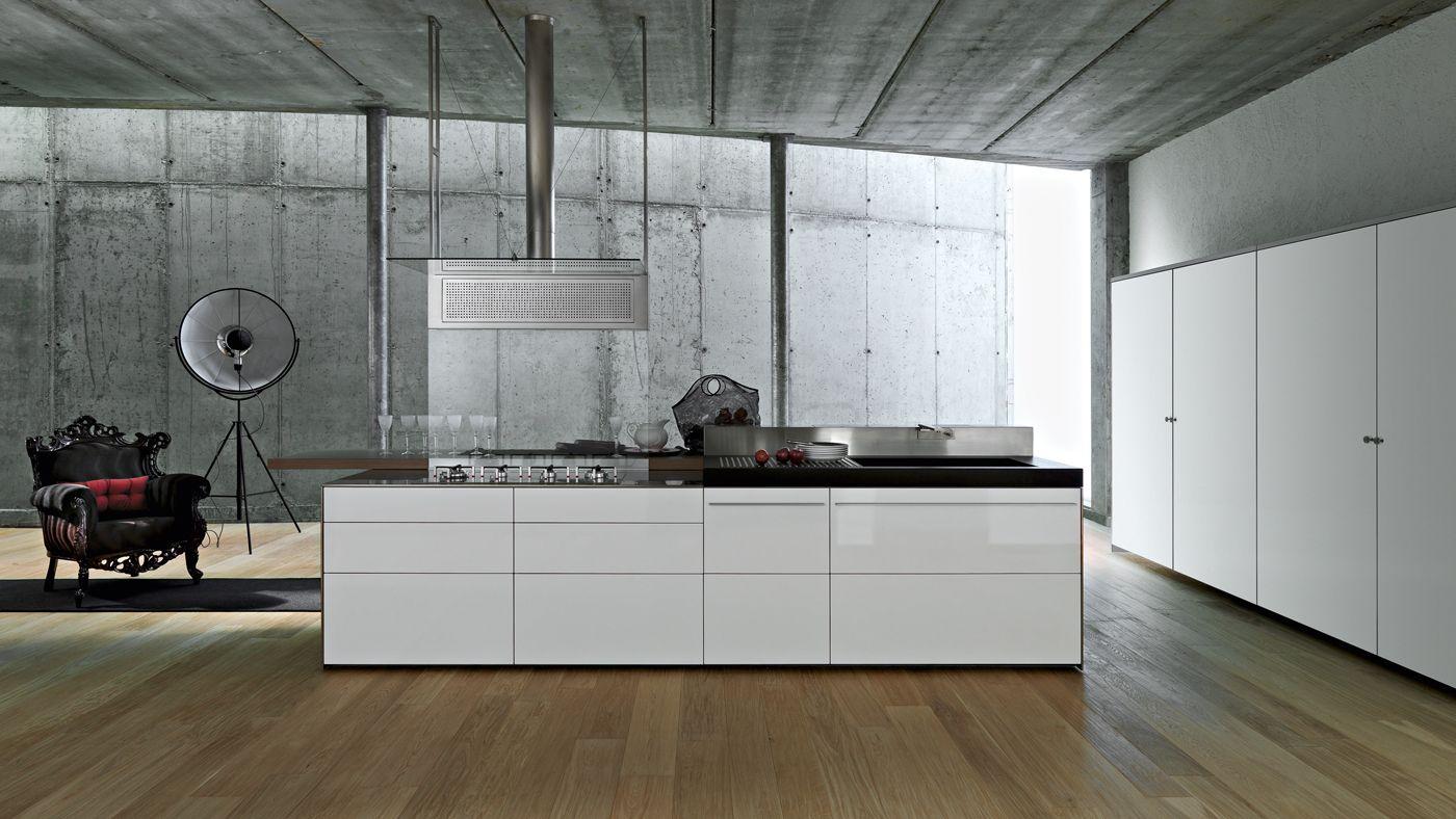 Design in hoogglans wit